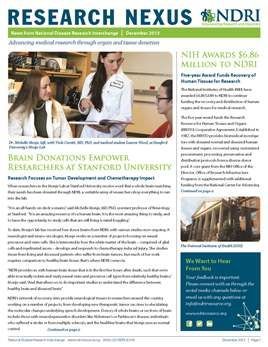 NDRI's Research Nexus 2013