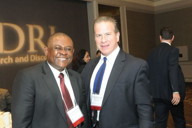Dr. Bennet Omalu and Dr. Julian Bailes