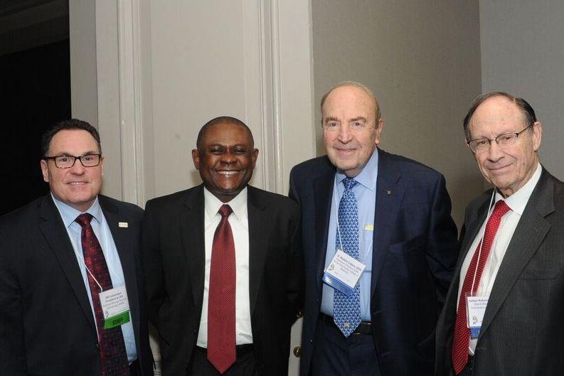 Dr. Bennet Omalu, Bill Leinweber, NDRI, D. Wlater Cohen, DDS, Arthur Rubenstein