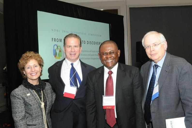 Dr. Bennet Omalu, Mary J.C.Hendrix, PhD, Julian Bailes, MD, Lou Philipson, MD