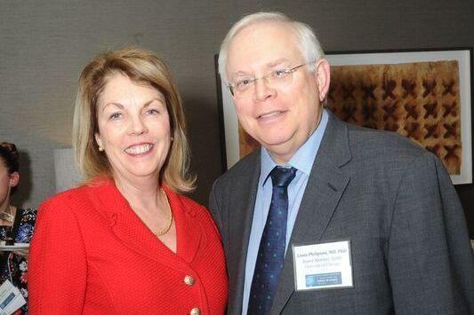 Elizabeth Dale, Jefferson and Louis Philipson, University Chicago