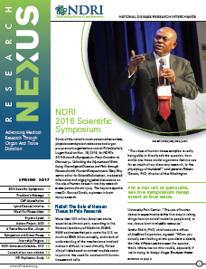 NDRI Research Nexus Spring 2017